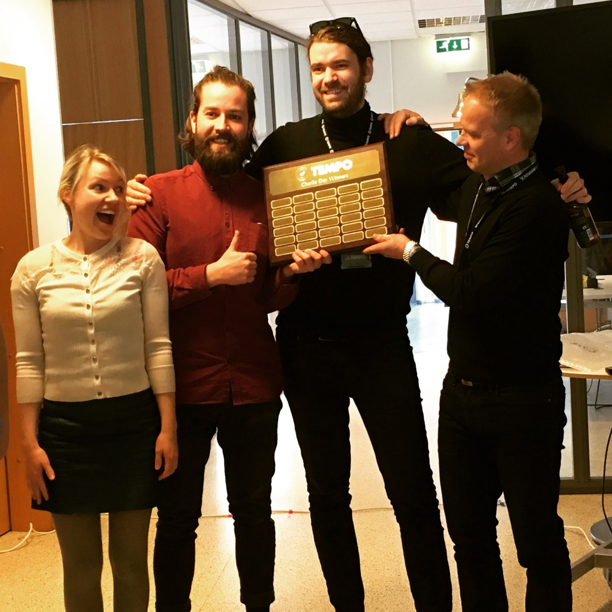 Tempo | Innovation Day Winners