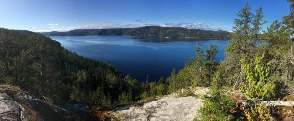 Tempo Team hiking in Saguenay Fjord National Park