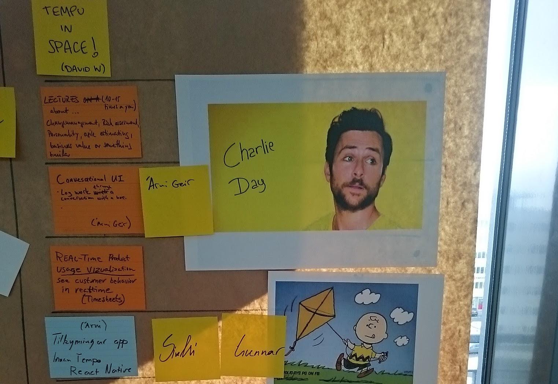 Innovation Day Idea Board