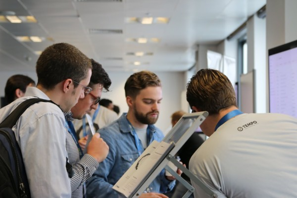 Tempo team demoing products to attendees of JAX London 2014