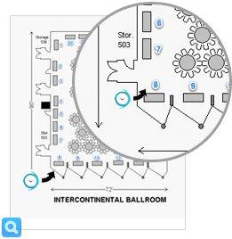 Atlassian Summit 2011 - Booth map