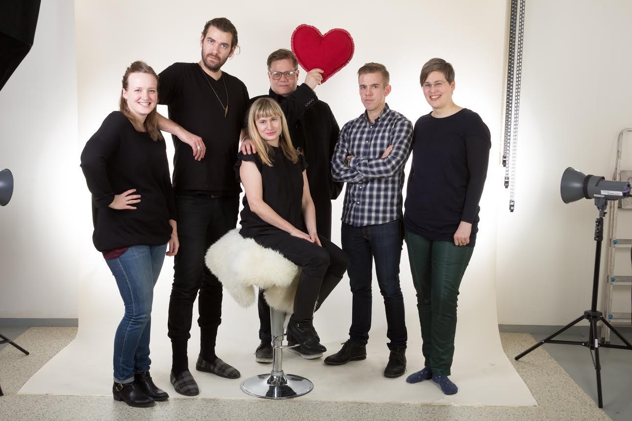 group photo of Tempo's marketing team