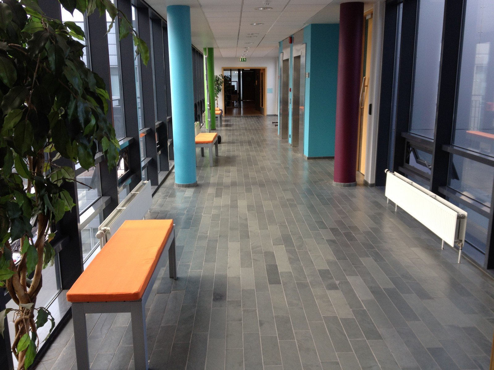 TM Software corridor after the makeover