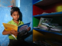 Room to Read - boy reading