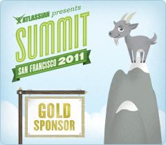 Atlassian Summit 2011 - Gold Sponsor